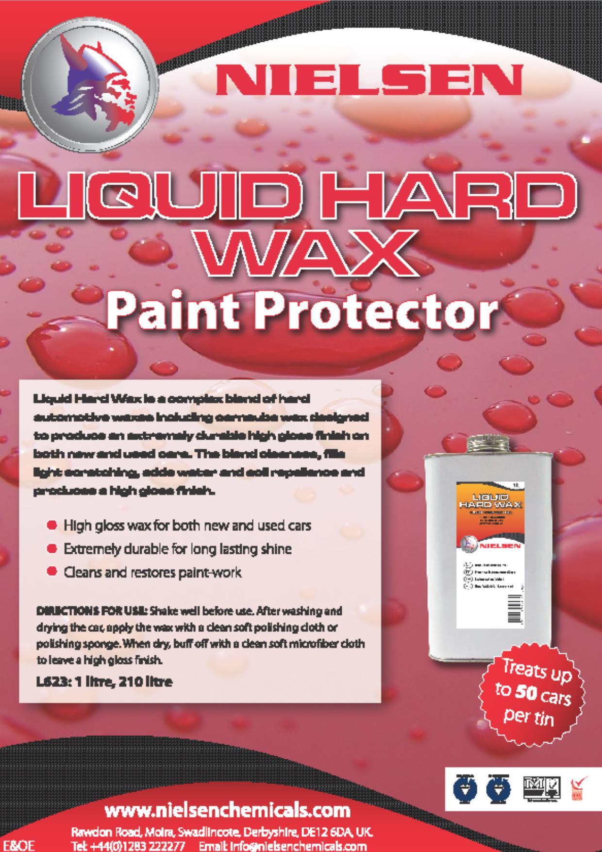 Nielsens Liquid Hard Wax