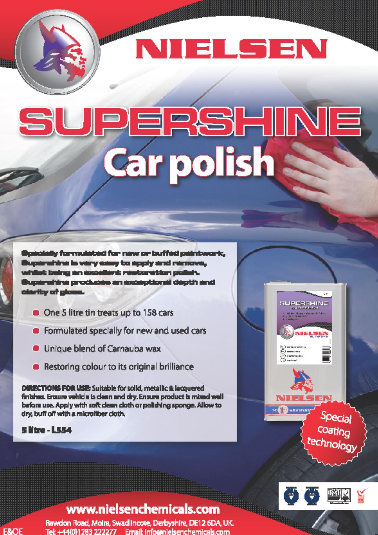Nielsens Supershine Car Polish