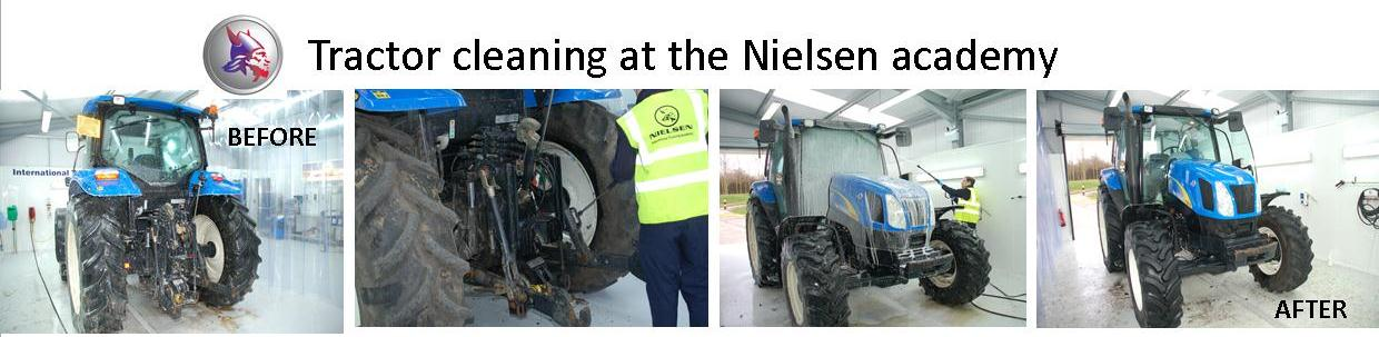 Tractor Cleaning with Nielsen Products