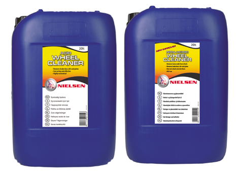 Nielsens Acid Wheel Cleaner