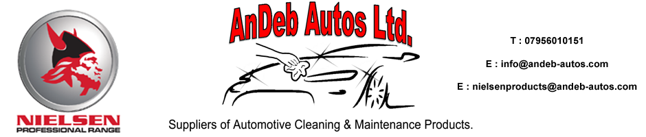 TDS & SDS INFO | Andeb-Autos Ltd supplying valeting detailing