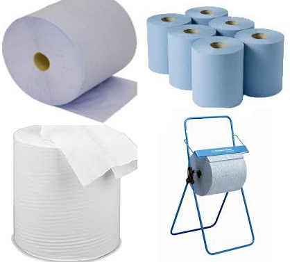 Paper Centre Feed Forecourt Roll